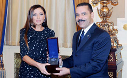 Mehriban Aliyeva, the First Lady of the Republic of Azerbaijan, and President of the Heydar Aliyev Foundation
